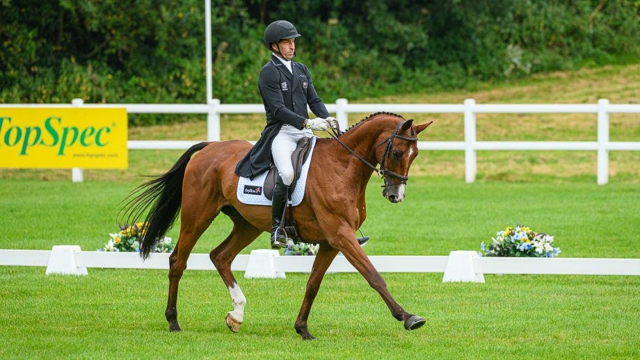 Bicton Horse Trials dressage: Tim Price and Ringwood Sky Boy