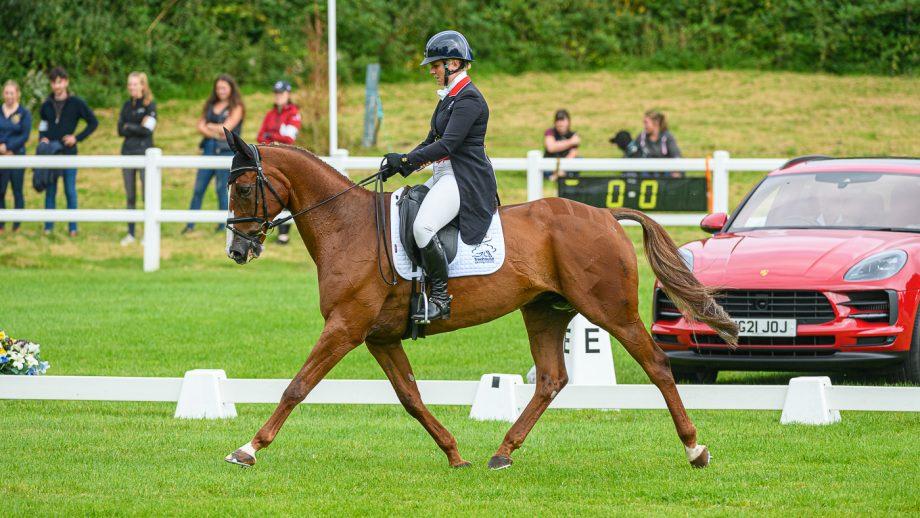 Bicton Horse Trials dressage: Gemma Tattersall and Chilli Knight
