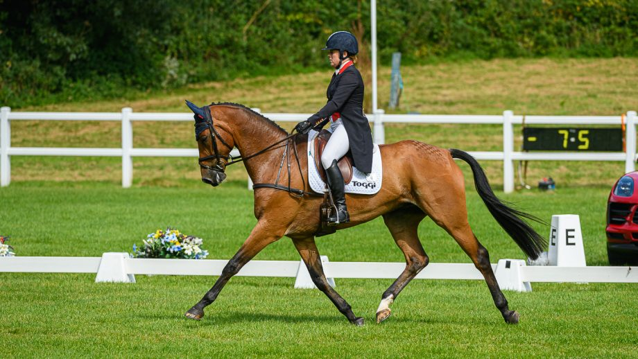 Bicton Horse Trials dressage: Pippa Funnell and Majas Hope