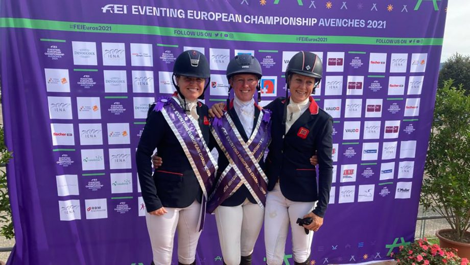 European Eventing Championships results 2021 individual podium