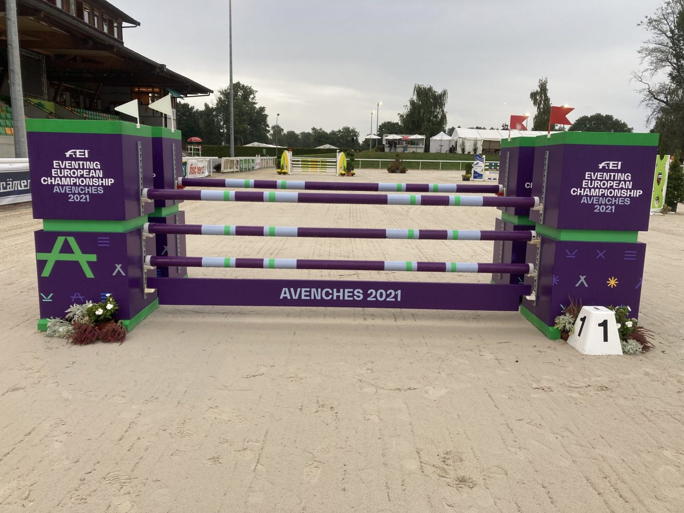 European Eventing Championships showjumping