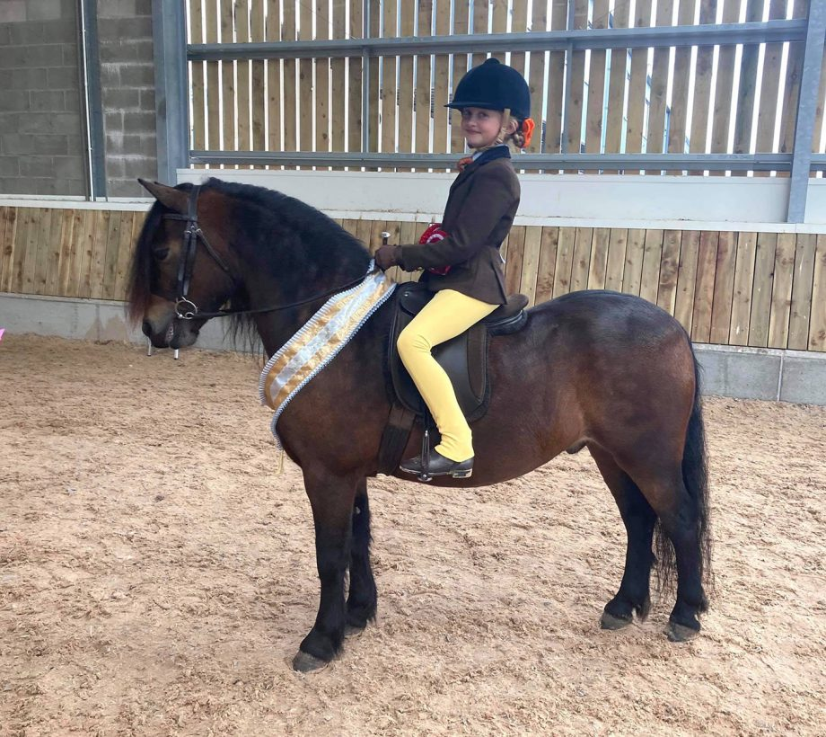 Feldons Red Kite and Evie Walker are off to HOYS 2021