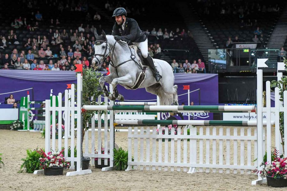 Jay Halim and Aragon Z win the HOYS speed horse of the year