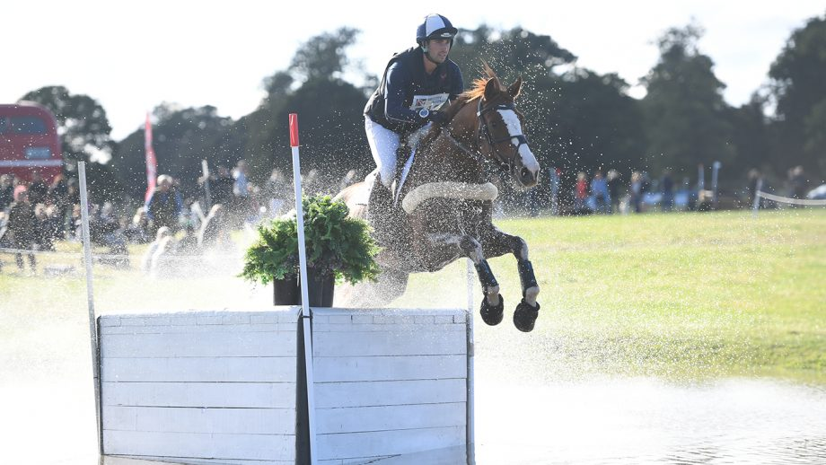 Stephen Heal rides Quidam De Lux to win the seven-year-olds at Osberton Horse Trials