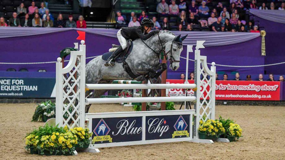 HOYS pony newcomers winners Thomas Bradburne and Derryinver Rocky