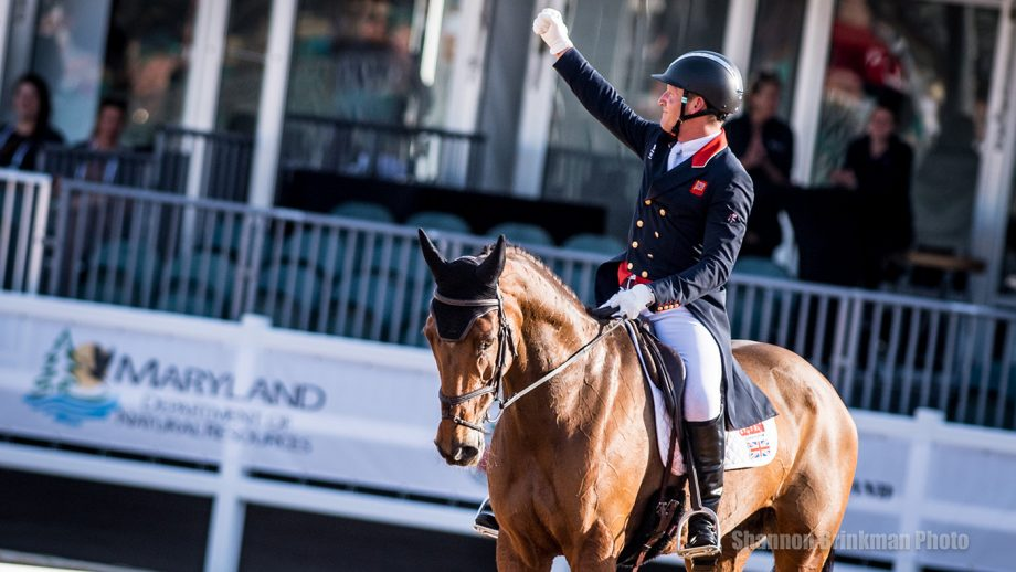 Maryland 5 Star dressage: Oliver Townend and Cooley Master Class