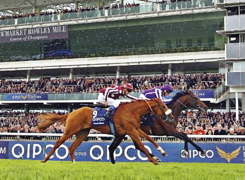 THE QIPCO 2000 GUINEAS STAKES MAY 2012