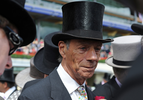 Sir Henry Cecil, one of Flat racing's top trainers