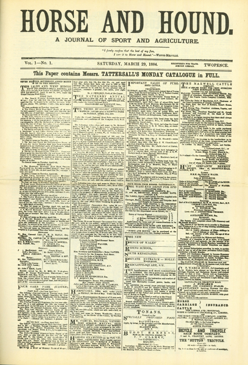1st edition: 29 March 1884
