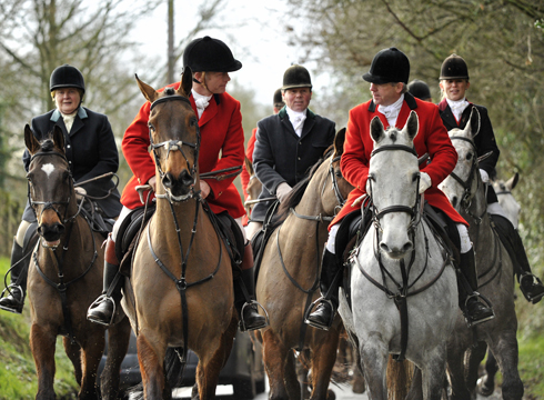 THE WORCESTERSHIRE HUNT