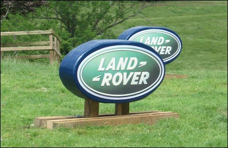The Land Rover Offset at The Folly