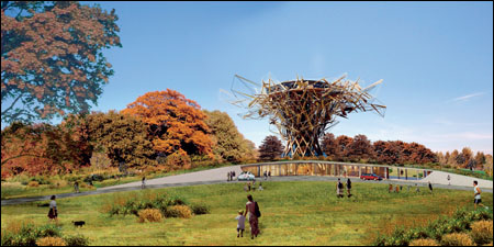 The Sherwood project would include a new carbon neutral visitor centre, more trees and new bridleways