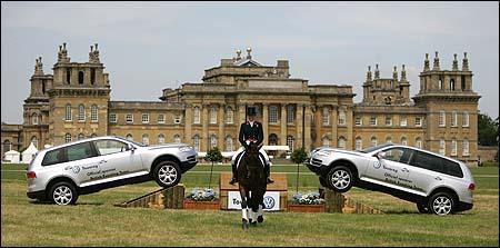 Volkswagen Touareg's at Blenheim Horse Trials