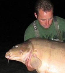 Scar World Record 99 lb carp