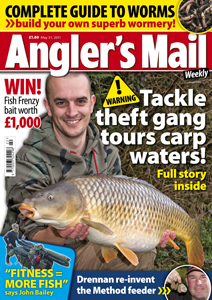 Cut your match bait costs! Read how to build your own wormery in p. 40. It's easy!