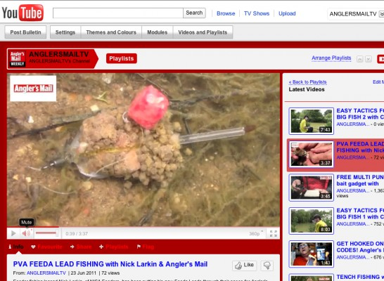 Watch the video on these Feeda Leads - and read the feature in Angler's Mail magazine.