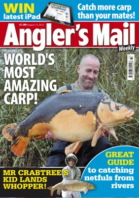 It's a stunner! The new Angler's Mail magazine is the best value and most interesting publication on the market.