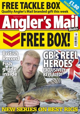 FREE TACKLE BOX with this week's brilliant issue of our mag – don't miss it!