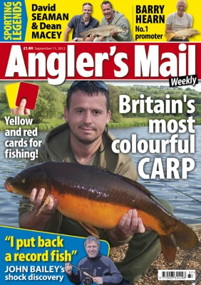 Colourful catches, brilliant advice, star anglers and the latest news - good and bad - are included in this week's issue. Be sure to get your copy!
