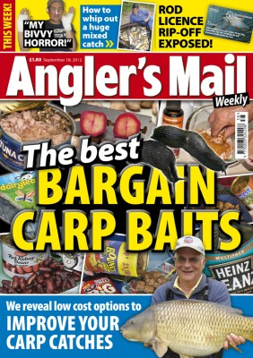 Angler's Mail magazine gives great fishing advice and news every week - don't miss an issue. It goes on sale every Tuesday, priced just £1.80.