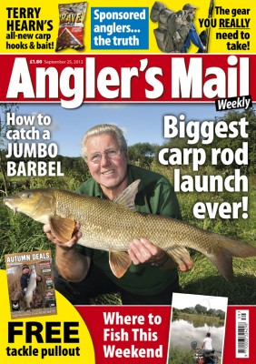 Be sure to get the latest issue of Angler's Mail magazine. Carl and Alex have a regular weekly tip in the mag, plus every issue is loaded with the best mix of news, tackle, advice and where to fish.