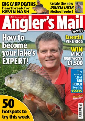 Be sure to read the brilliant latest issue of Angler's Mail magazine – out now, and only £1.80. It can be your key to winning great prizes!