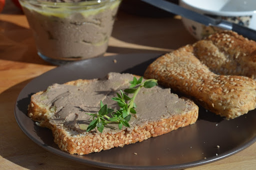 The liver pate in my sandwich was well worth trying.