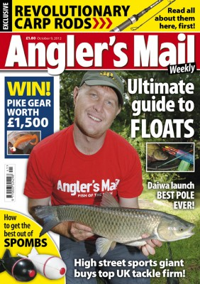 Out now! Don't miss the new issue of Angler's Mail magazine. It includes exclusive coverage of great new gear, including revolutionary carp rods called Scope.