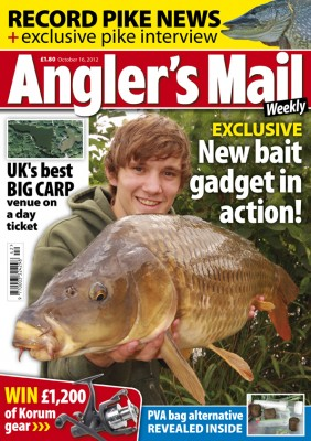 Be sure to get Angler's Mail magazine for the best fishing advice and where to fish - plus lots more. Only £1.80.