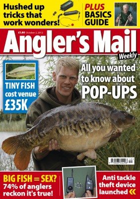 Be sure to read this week's Angler's Mail magazine (on sale now) for big value angling coverage, including must-read exclusives galore!