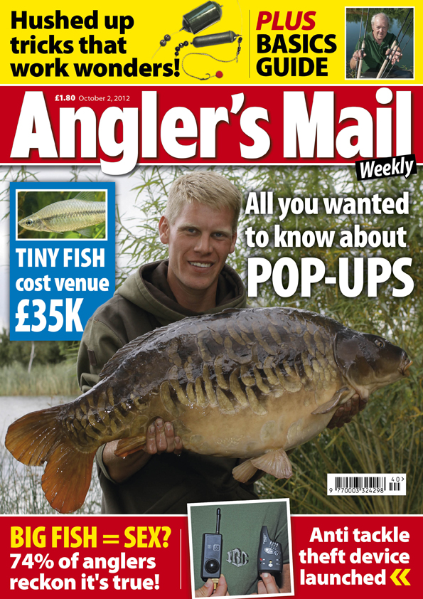 Lots of venues in October 2 issue of Angler's Mail ...