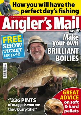 See Steve Collett in action in a special Action Replay in the new Angler's Mail magazine. Only £1.80, every week. This is the new issue, out now, and includes a special interview with £25K Parkdean Masters champ Harry Billing.