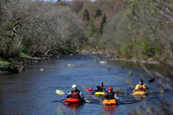 Canoeists' access is a big issue being tackled by the Trust right now.
