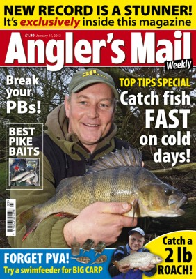 This new issue of Angler's Mail magazine, only £1.80, is in shops now. Be sure to get your copy!
