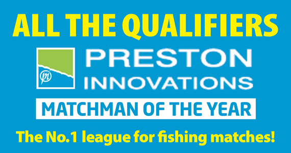 Read Angler's Mail magazine for exclusive coverage of the Preston Innovations Matchman of the Year competition.