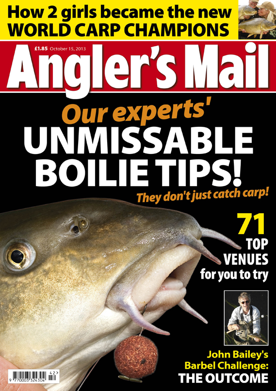 Learn loads in this week's Angler's Mail magazine, in shops from Tuesday, October 15.