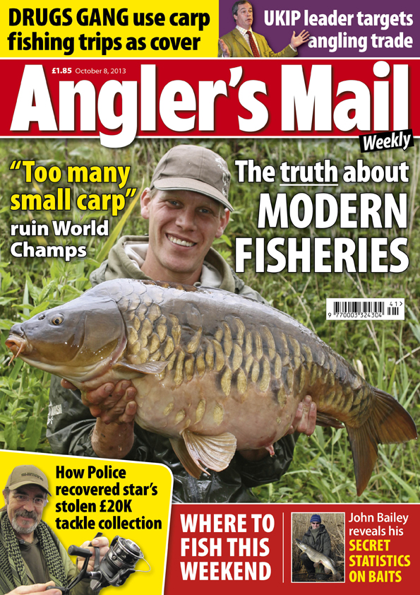 New and in shops from Tuesday October 8, get your copy of the big value Angler's Mail magazine.