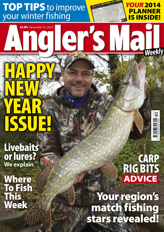 This week sees a new issue of Angler's Mail - it's a must-read for you.