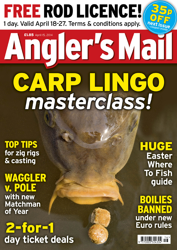Best hooker pellets, Andy Bennett v Steve Collett and much more is in this week's must-read issue of Angler's Mail mag, on sale from Tuesday, April 15.
