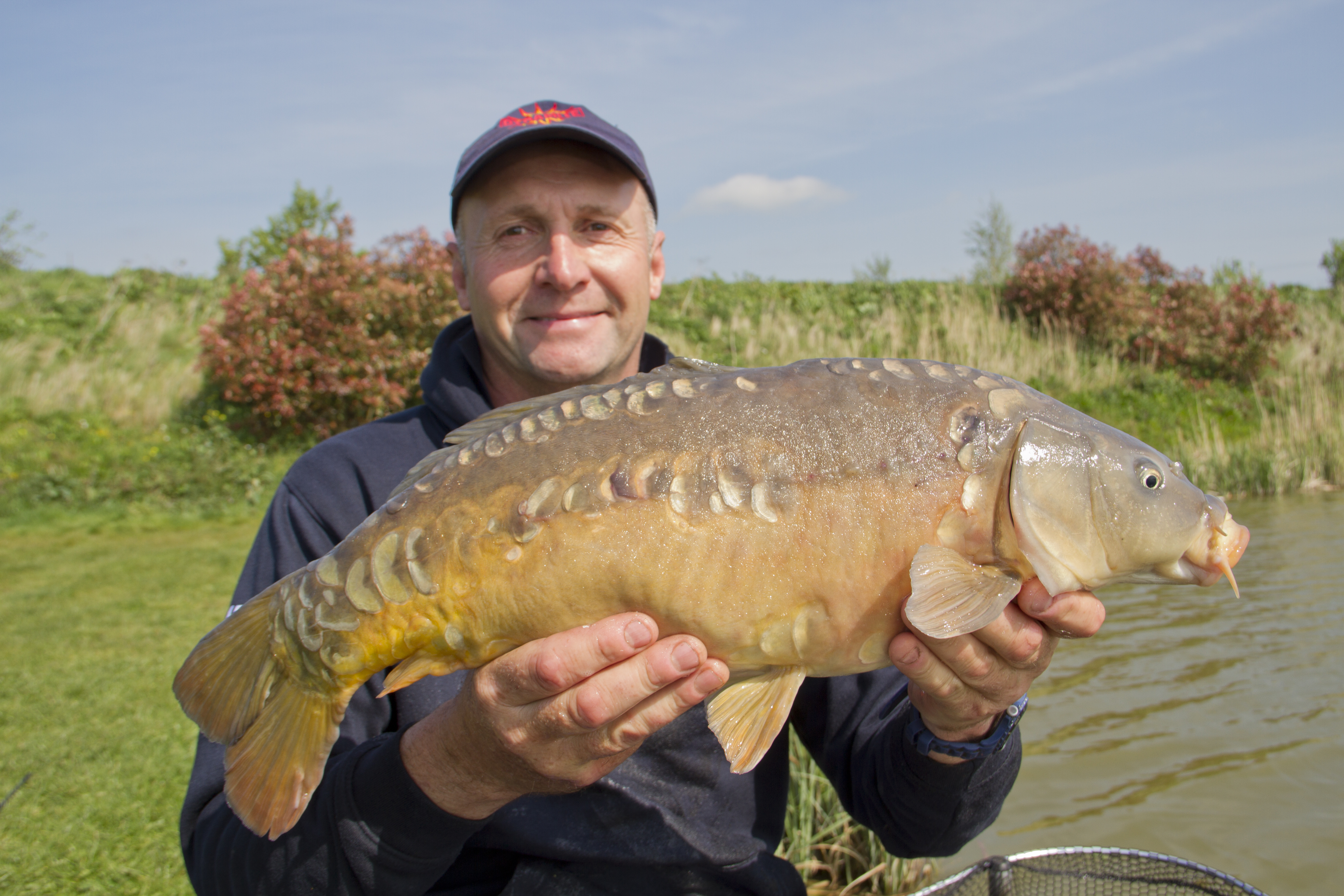 West midlands wales match fishing results for april 26 for Scott and white fish pond