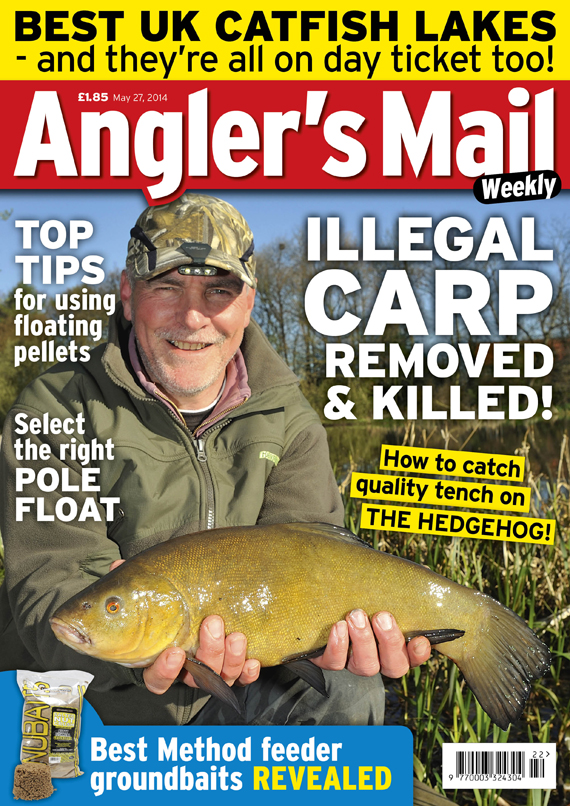 Be sure to get this week's issue of Angler's Mail - includes terrific Action Replay with Drennan's match ace Darren Davies!
