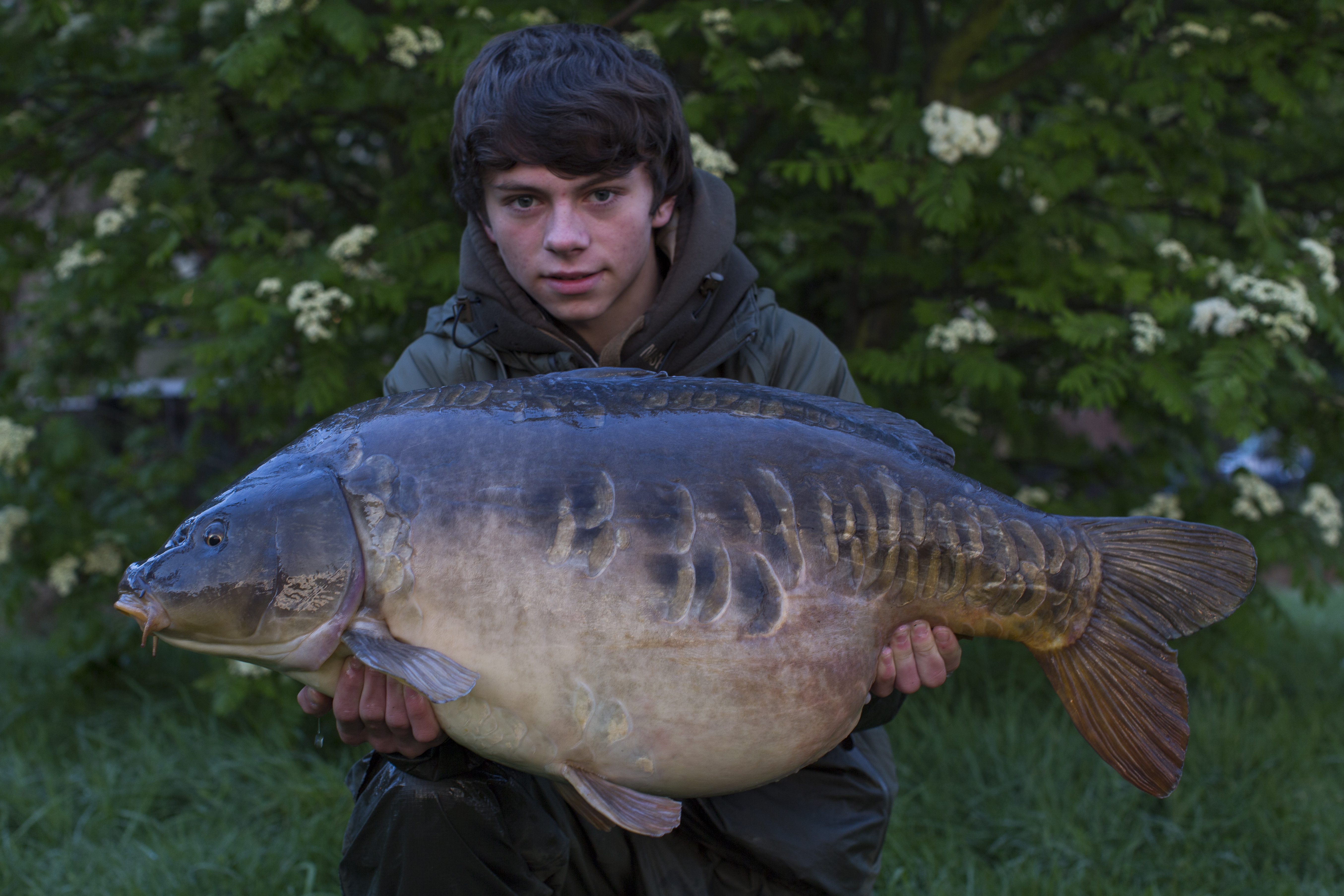 Eight 30s for Nash's young carp fishing star Alfie Russell ...