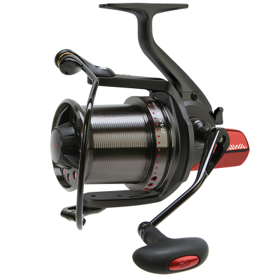 our view on daiwa custom revolution for carp fishing, Reel Combo