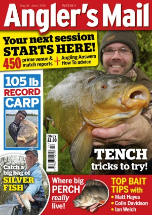 Be sure to get this week's Angler's Mail magazine for the latest news, top tips and where to fish ideas.