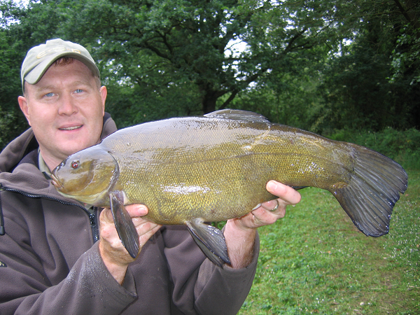 Float fishing for tench