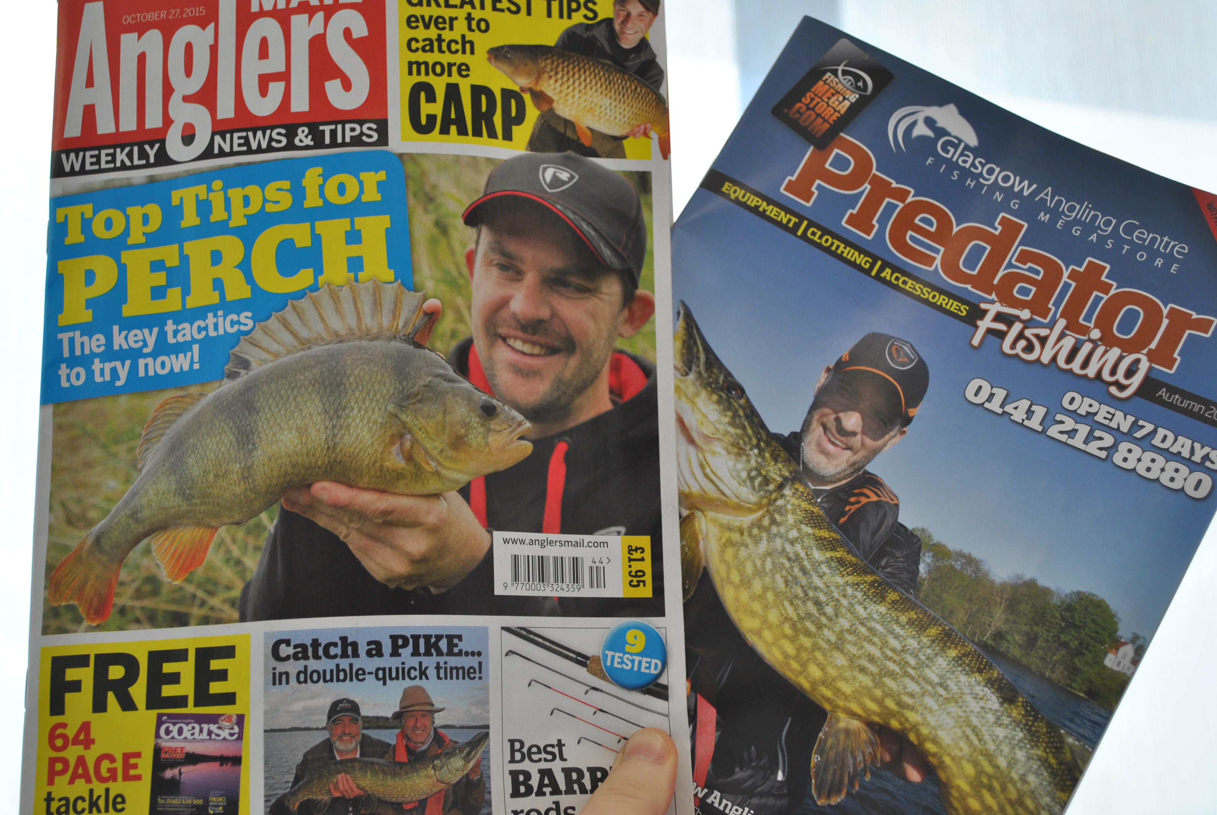 Free predator fishing tackle 64 pager with this week 39 s for Free fishing magazines