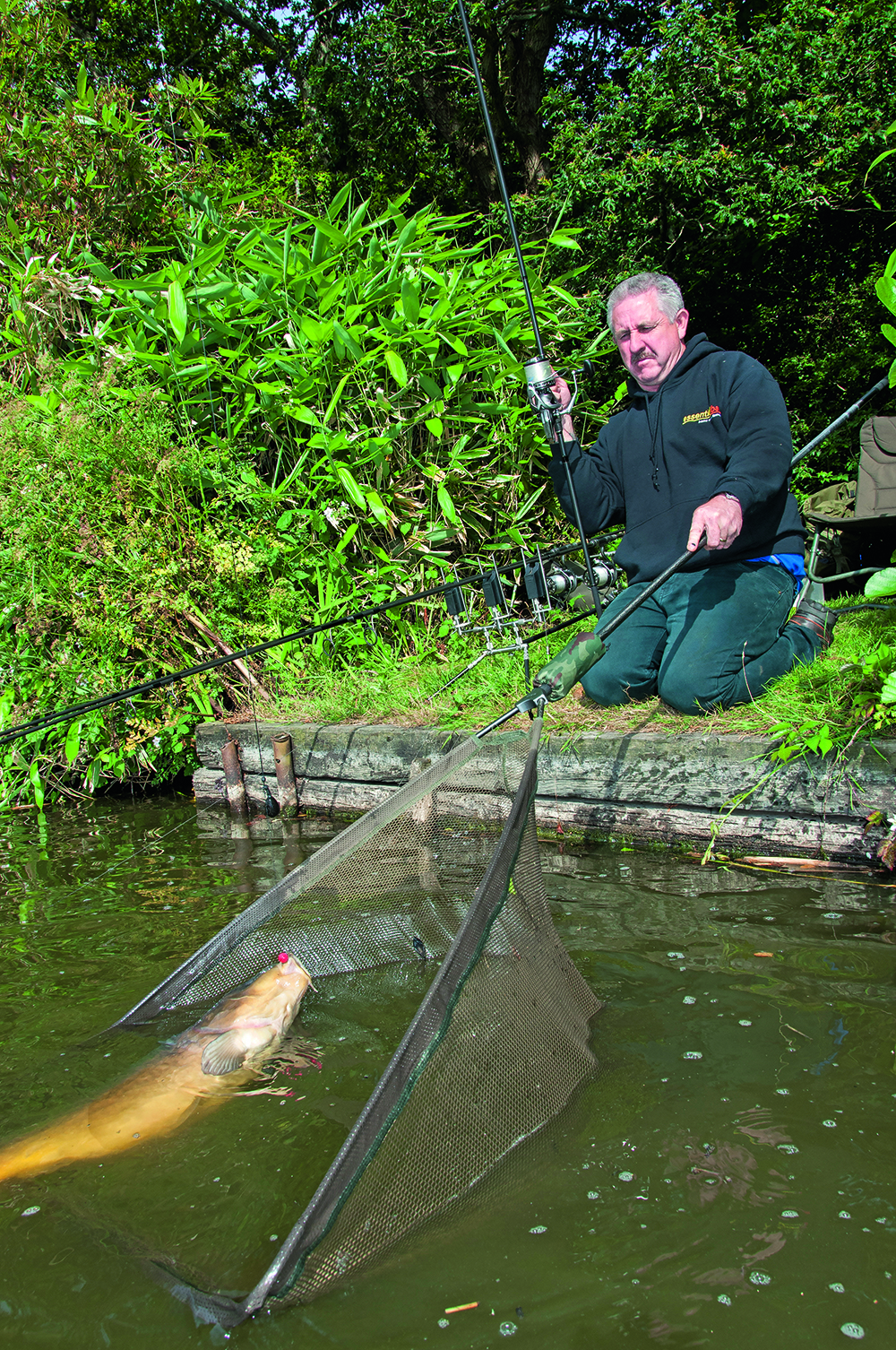 Best fishing landing nets and top tips when using them for Fish net company