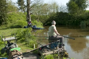 Match fishing is allowed in England again.