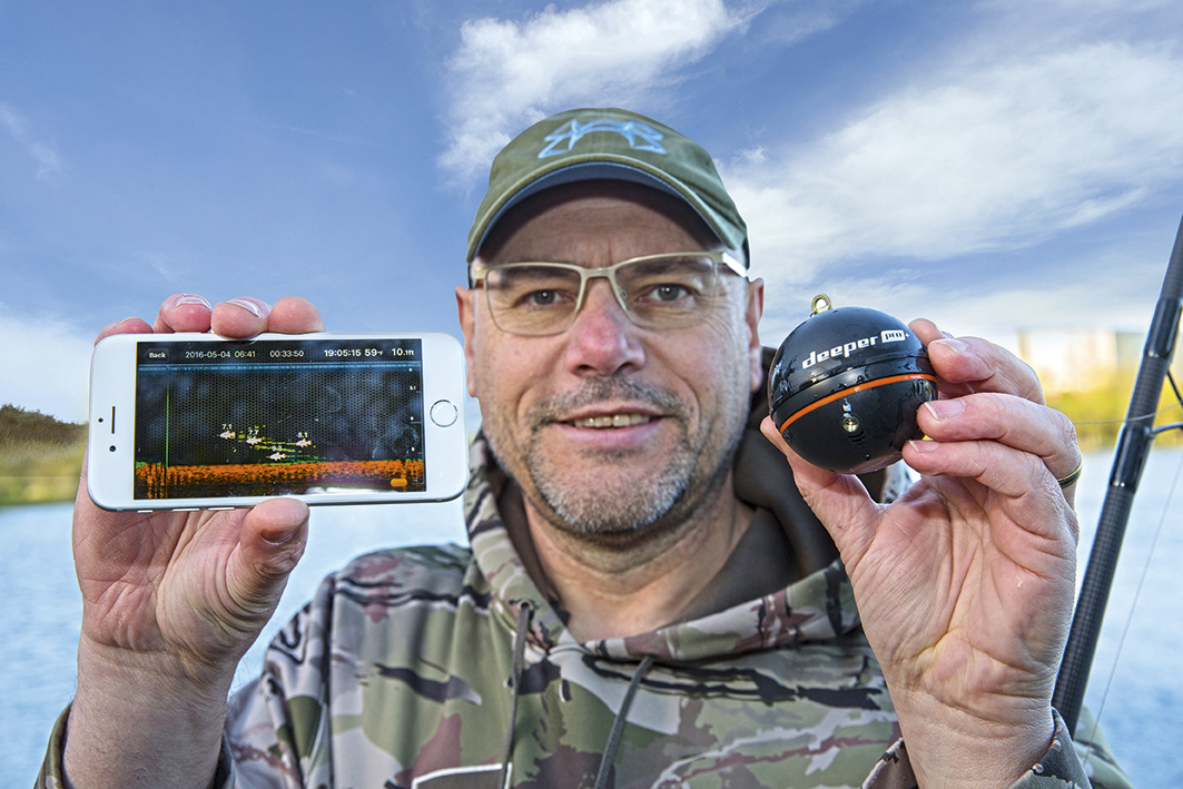 Deeper pro fish finder and feature finder wins another for Deeper fish finder pro