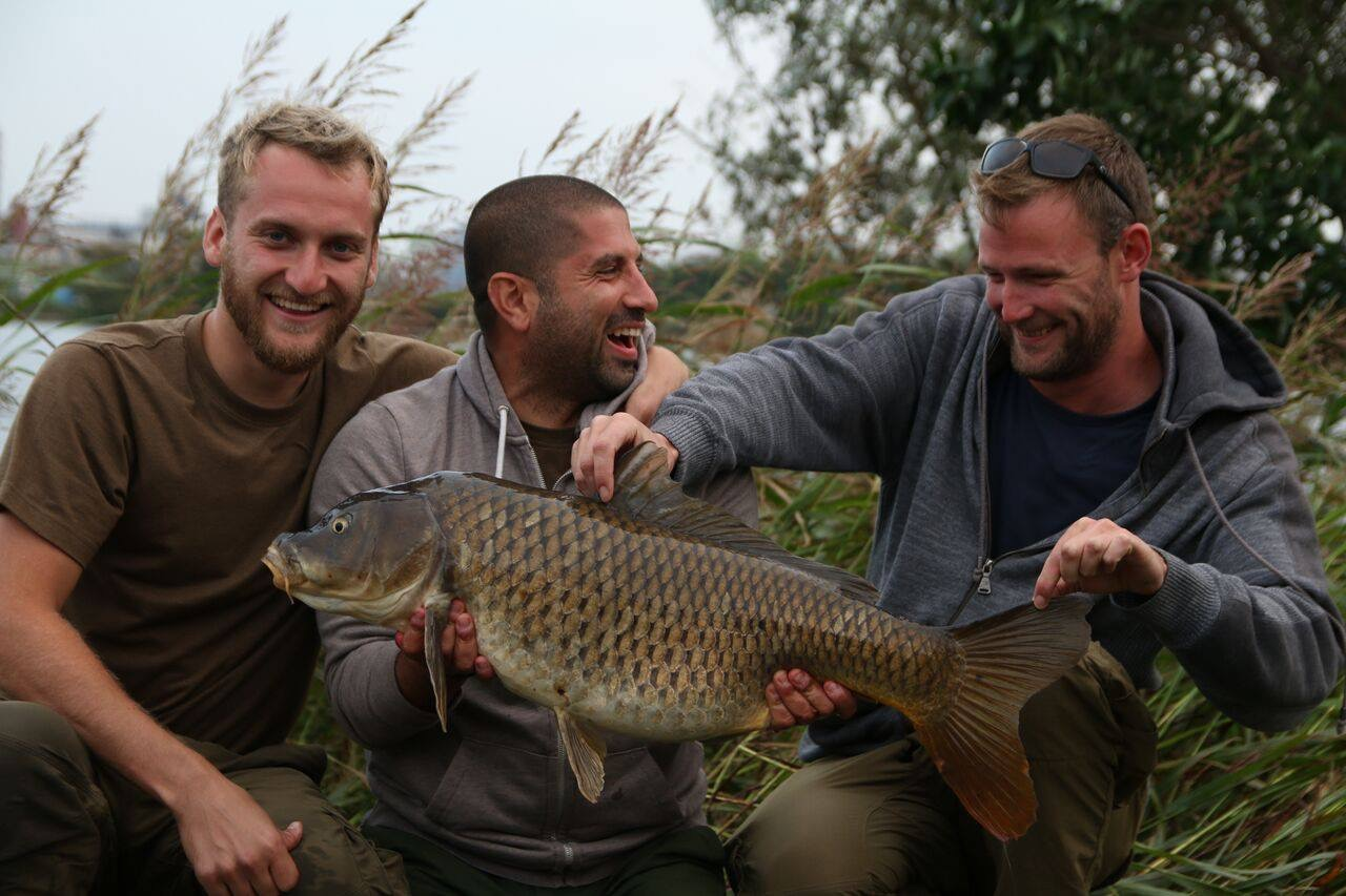 Itv monster carp tv series hits the spot angler 39 s mail for Fishing tv shows
